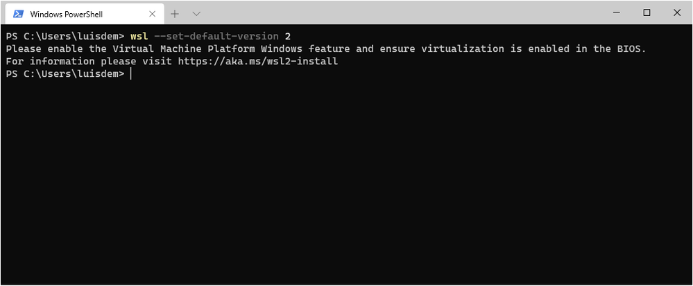 wsl2 not works in a vm.png