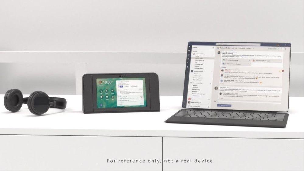 Introducing Microsoft Teams displays