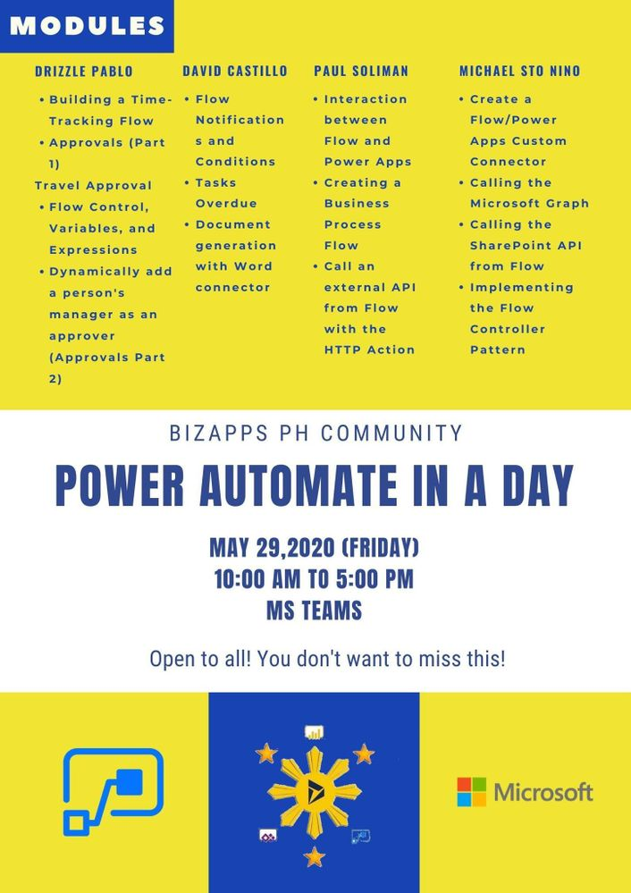 Power Automate in a Day