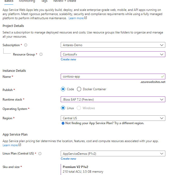 Public Preview: A managed JBoss EAP experience on Azure