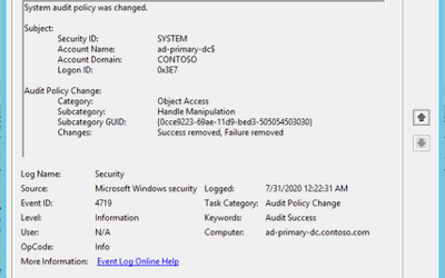 Enriching Windows Security Events with Parameterized Function