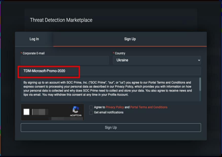 SOC Prime Threat Detection Marketplace Promotion for Azure Sentinel.png