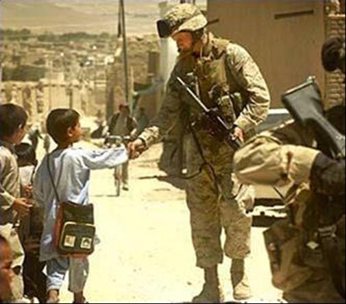 United States Marine Corps Sergeant Jeremy Pitman - Afghanistan, Ghazni Province - 2004