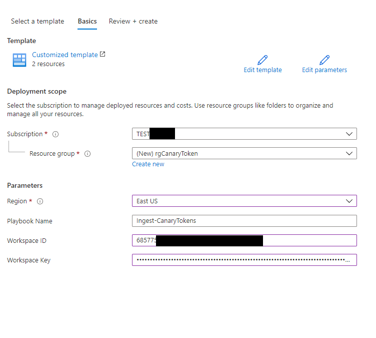 How to setup a Canarytoken and receive incident alerts on Azure Sentinel