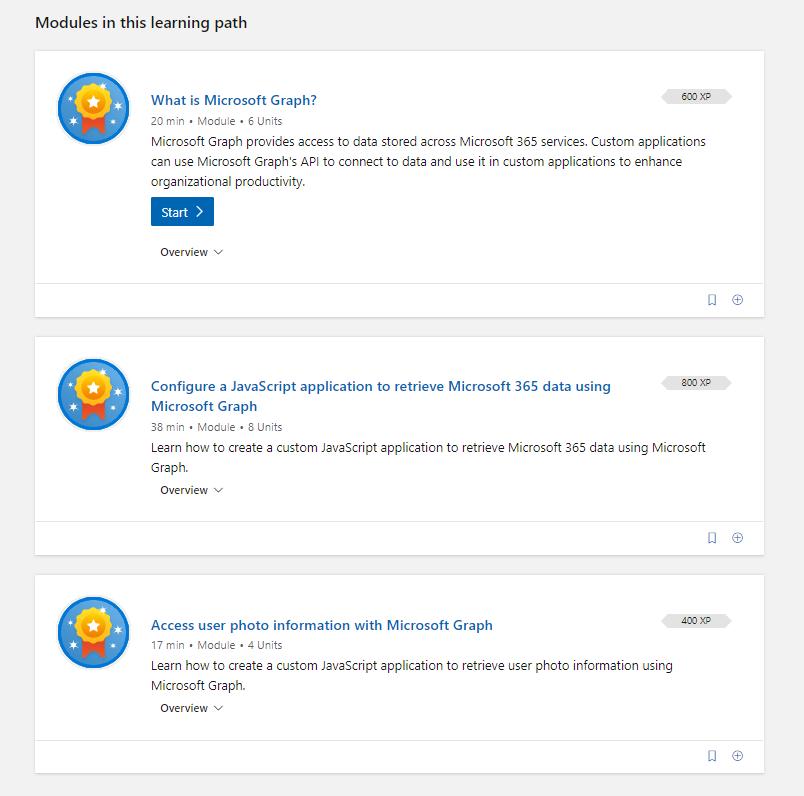 Microsoft Graph modules in Microsoft Learn.png
