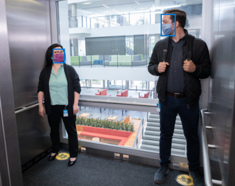 Face mask detection with Face Service